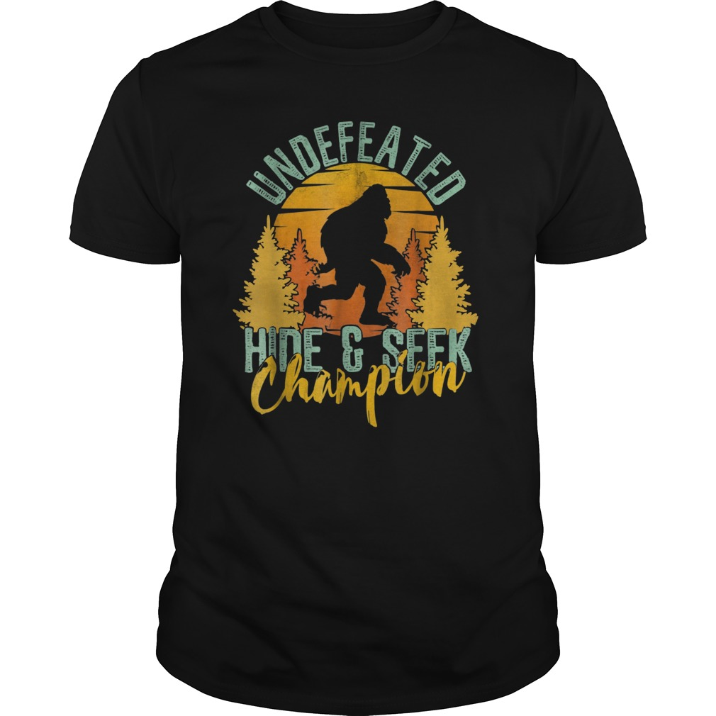 96498e9f4 Bigfoot Shirt Hide And Seek Champion Shirt World Undefeated Hoodie ...