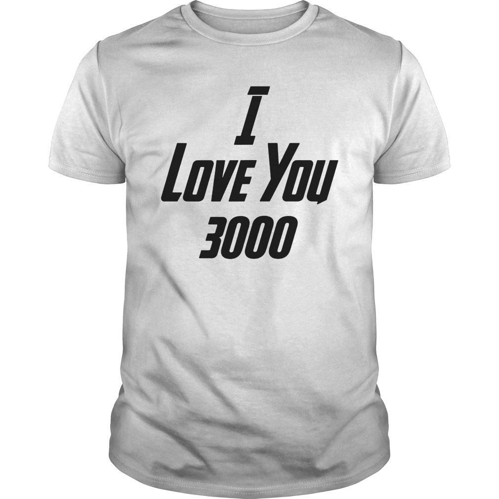 5de2e9cd52c85 Womens I Love You 3000 T-Shirt