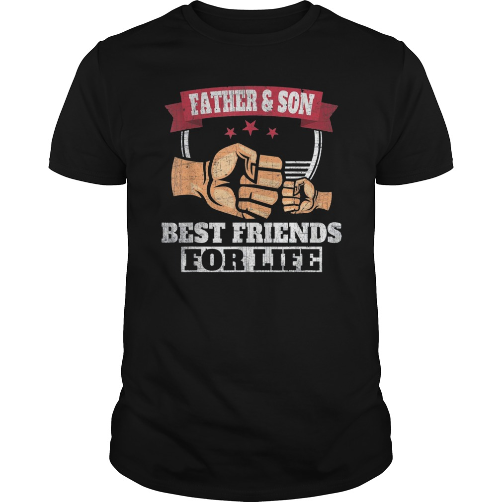 a653cadfa Mens Father & Son Best Friends for Life T-Shirt Fathers Day Gifts ...