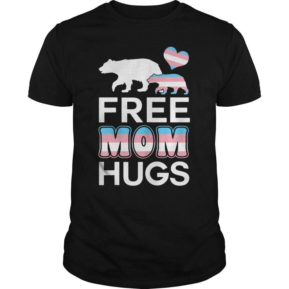 d224aac9 Free Mom Hugs – Women LGBT Pride Mama Bear T-Shirt