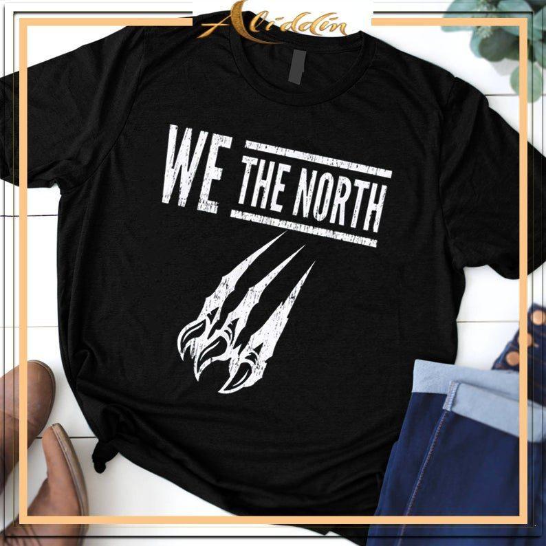 e3470e83451 WE THE NORTH – Canada T-Shirt – Raptors Tribute T-Shirt NBA Champions