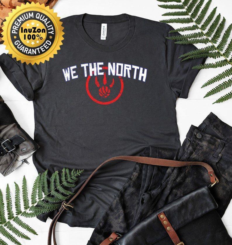 wholesale dealer 5bc0a 33bc9 We The North NBA Champions T-Shirt We The North Toronto Raptors Jersey  T-Shirt