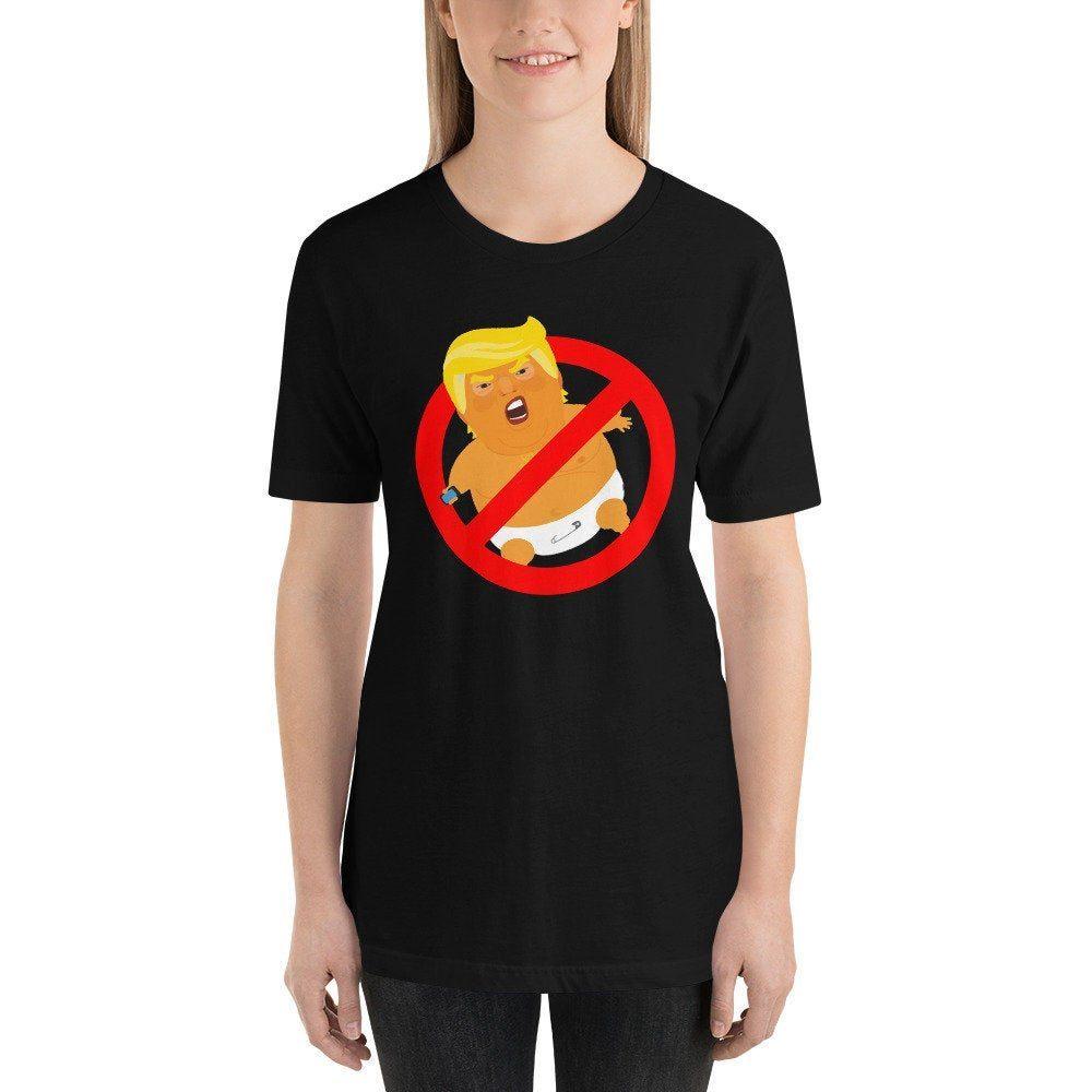 Anti Trump Tee Nope Political Resistance Shirt Not My President