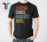 Legend Since August 1975 44th Birthday Gift 44 Years Old Tee Shirt